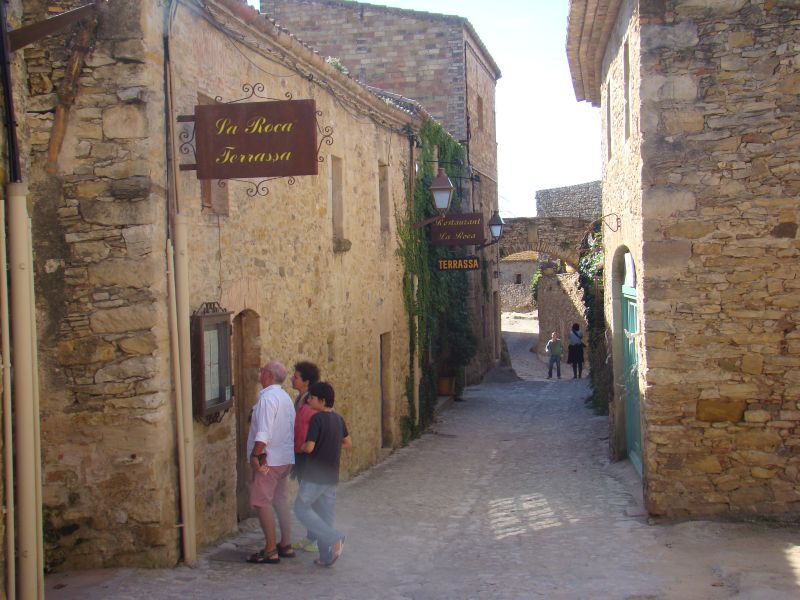 Medieval streets of Peratallada