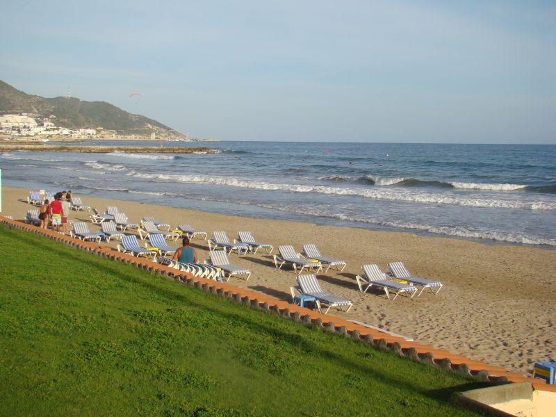 Beach at Sitges