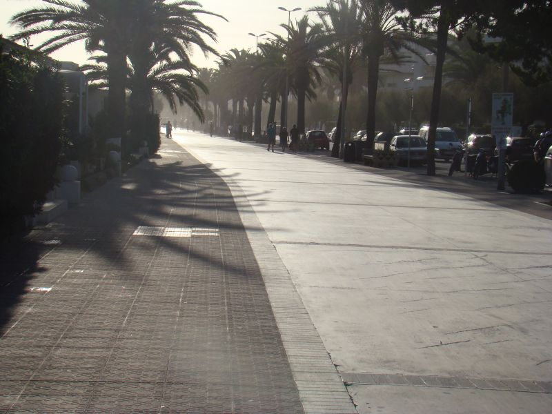 Boulevard at Sitges