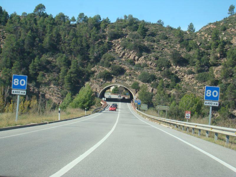 Tunnels in Spain