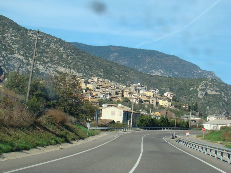 Town let close to border of Andorra