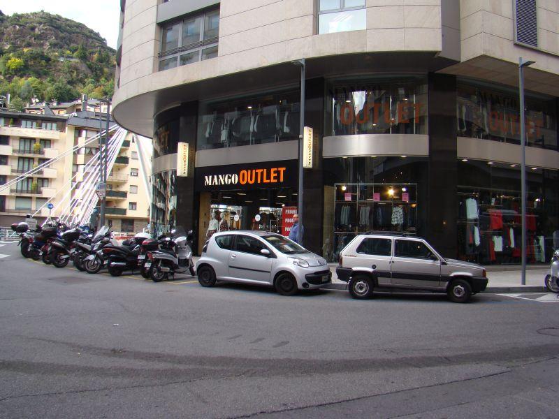 City centre of Andorra La Vella