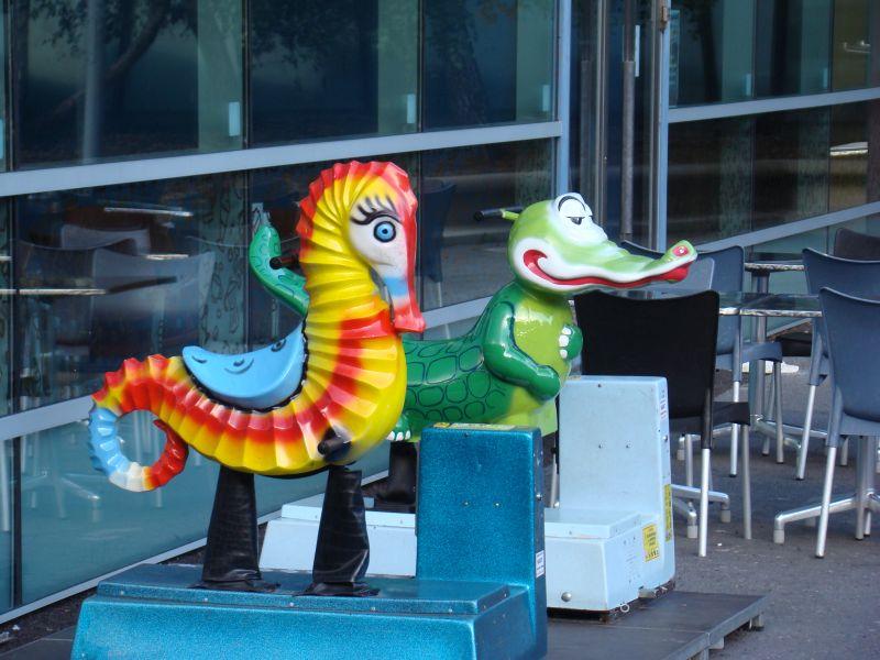 Children playground in Andorra