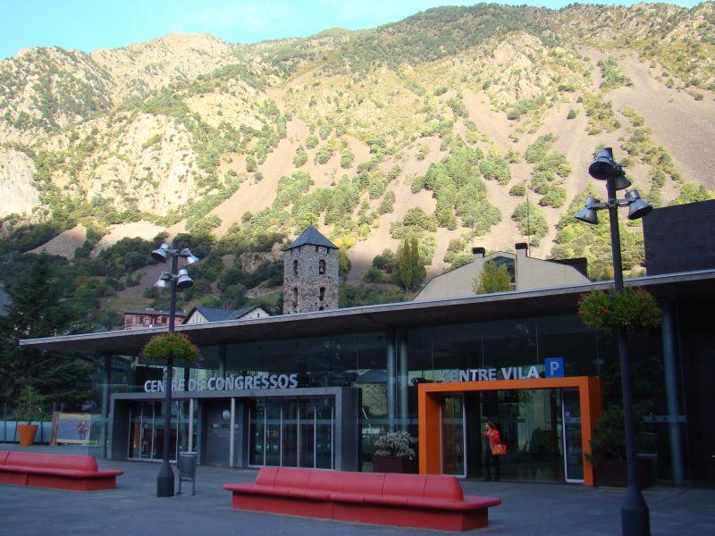 Parking lot at Andorra