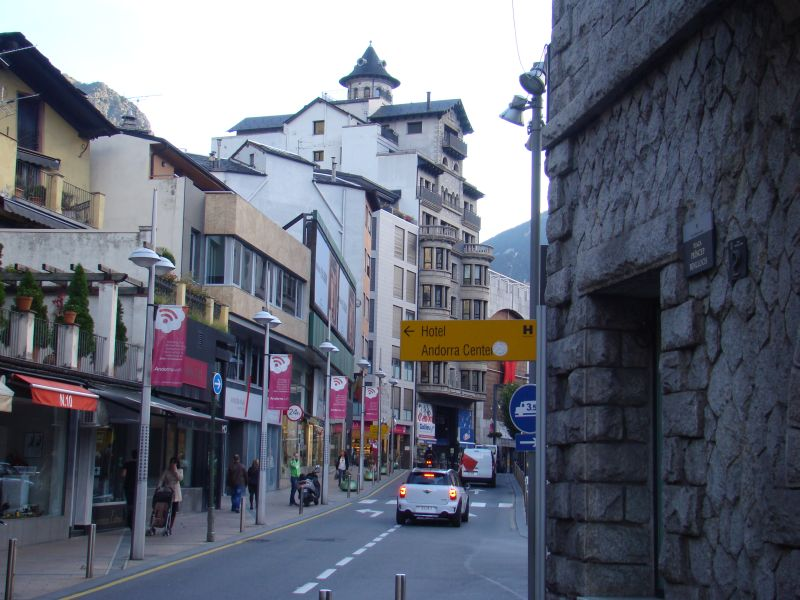 Those narrow streets of Andorra