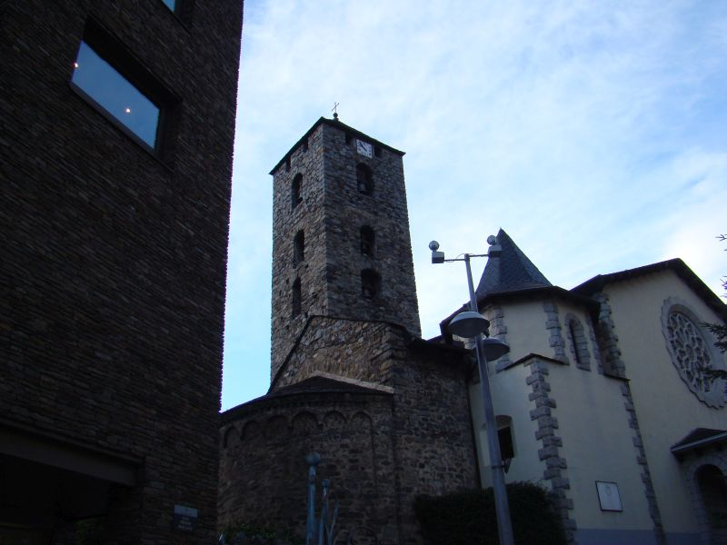 Some Medieval Tower in Andorra