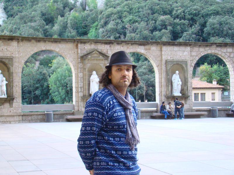 Author of this blog captured at Montserrat Mountain