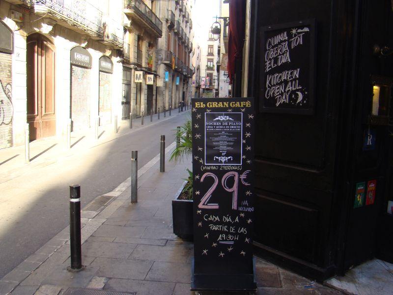 El Gran caffe in Barcelona