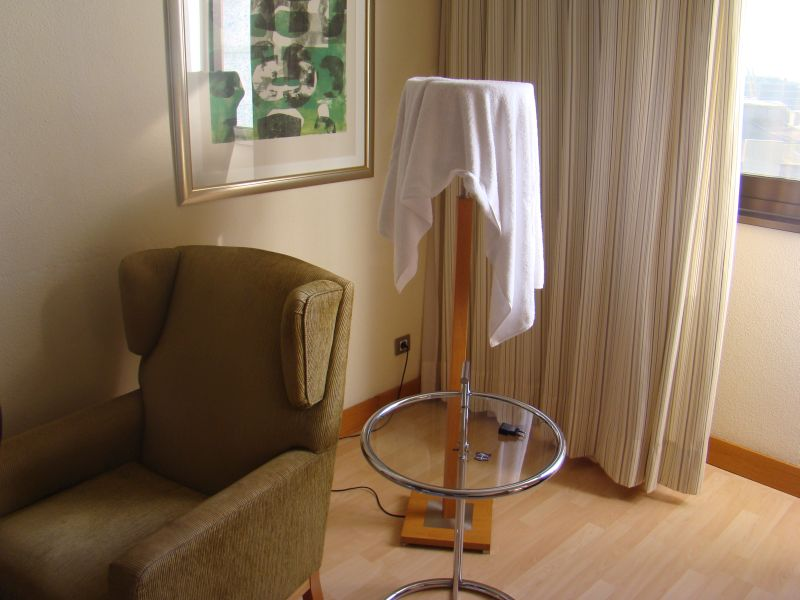 Mini Lounge at your room at Hesperia Sant Just