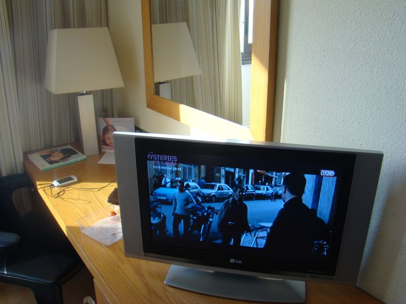 Flat Screen TV at Hesperia Sant Just