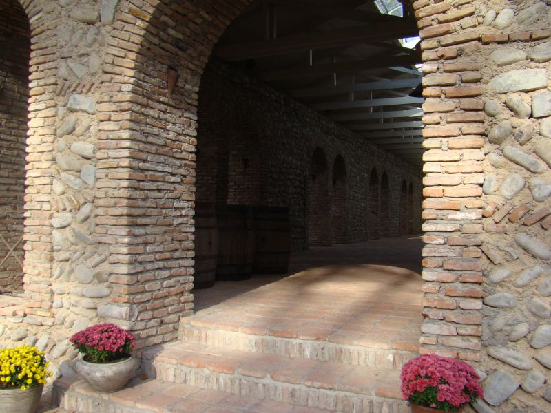 Entrance in Winery