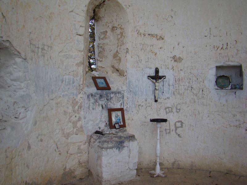 Ruins of Orthodox church at Tsinandali