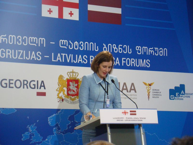 Dana Reizniece-Ozola - Economic minister of Latvia