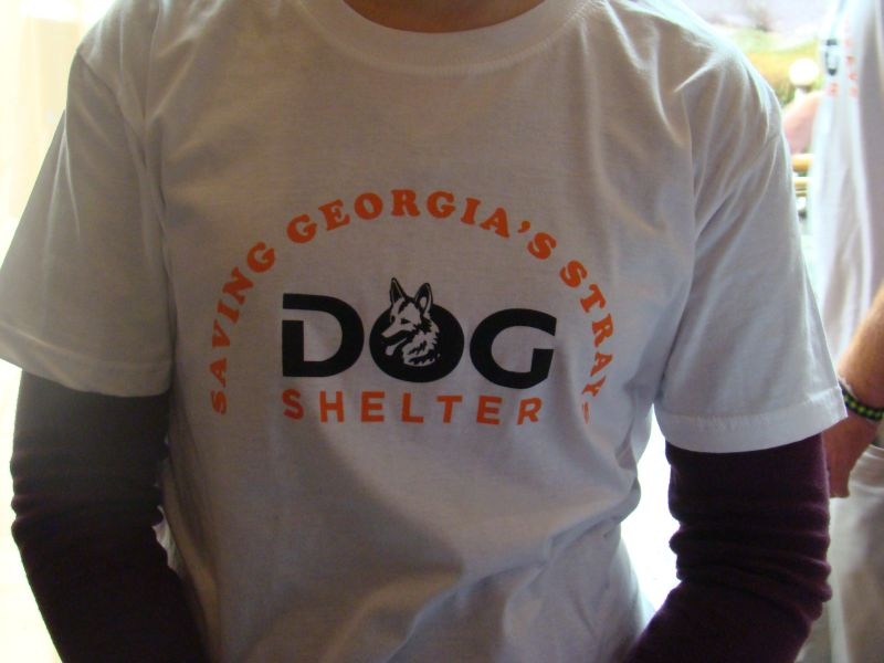 Volunteers from Dog shelter