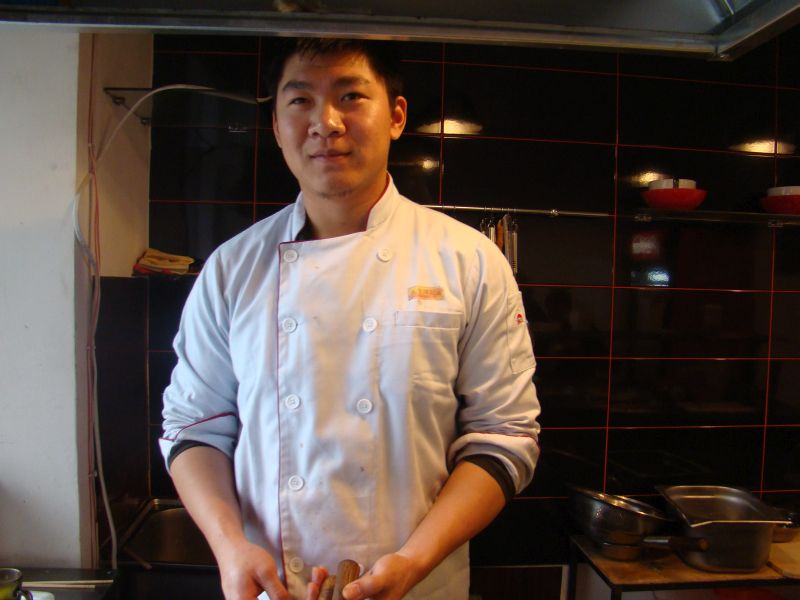 Chef at Fire Wok