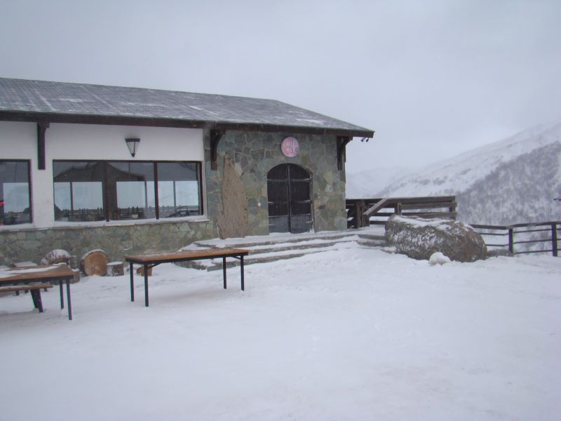 Hill's Hut - one and only restaurant up in the mountain