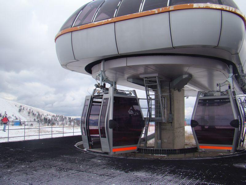 Ski lifts at Bakuriani (Didveli)