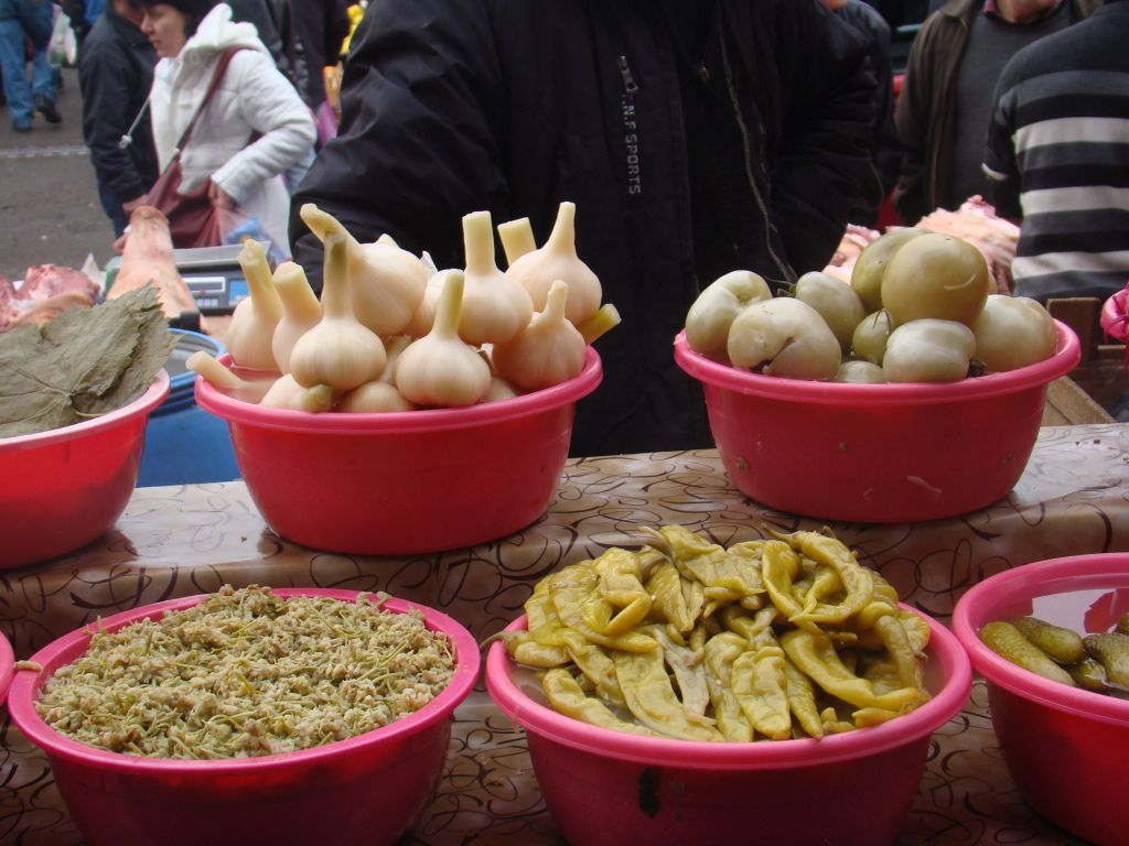 Pickles at Tbilisi market