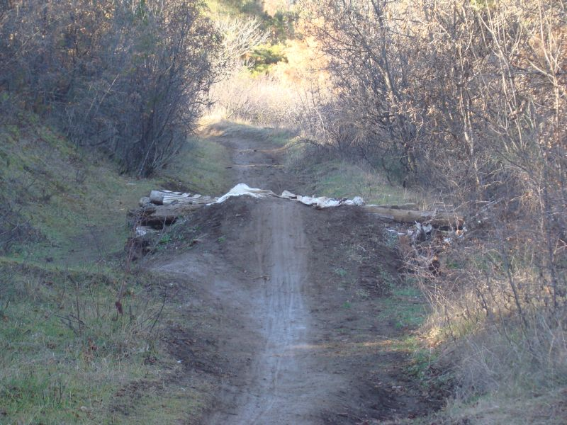Hiking trails in Tbilisi used by extreme riders