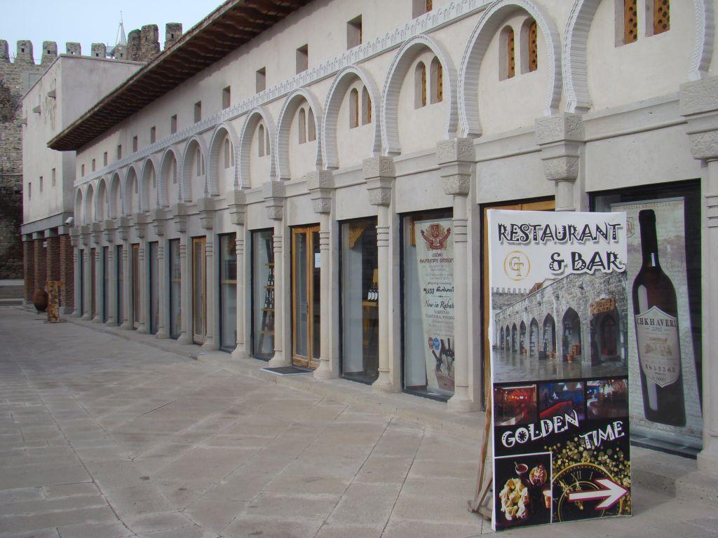Souvenir shop at Rabati complex