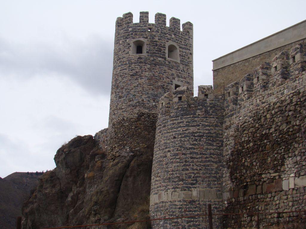 Rabati Fortress Towers built in rocks