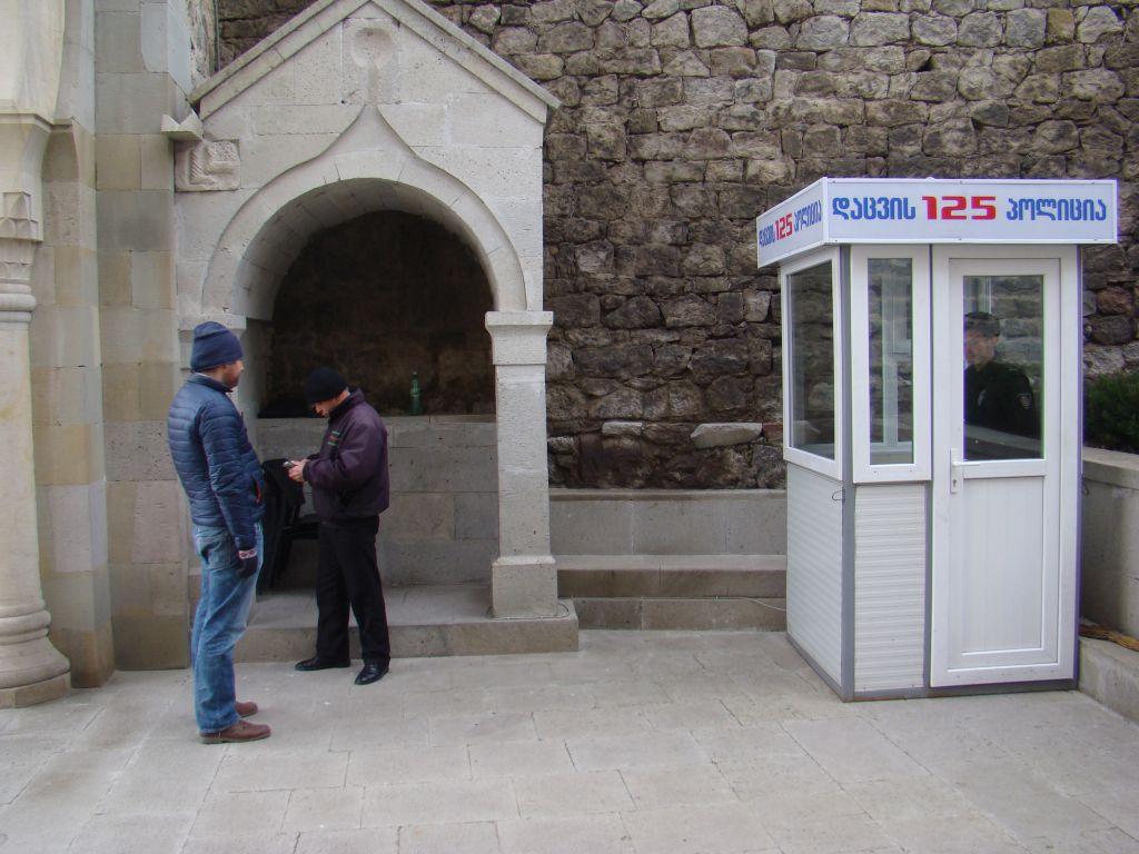 Guard booth at Rabati complex