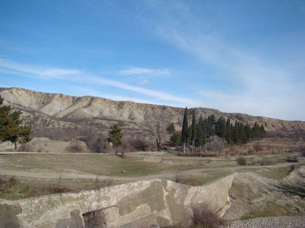Scenic views near Sagarejo