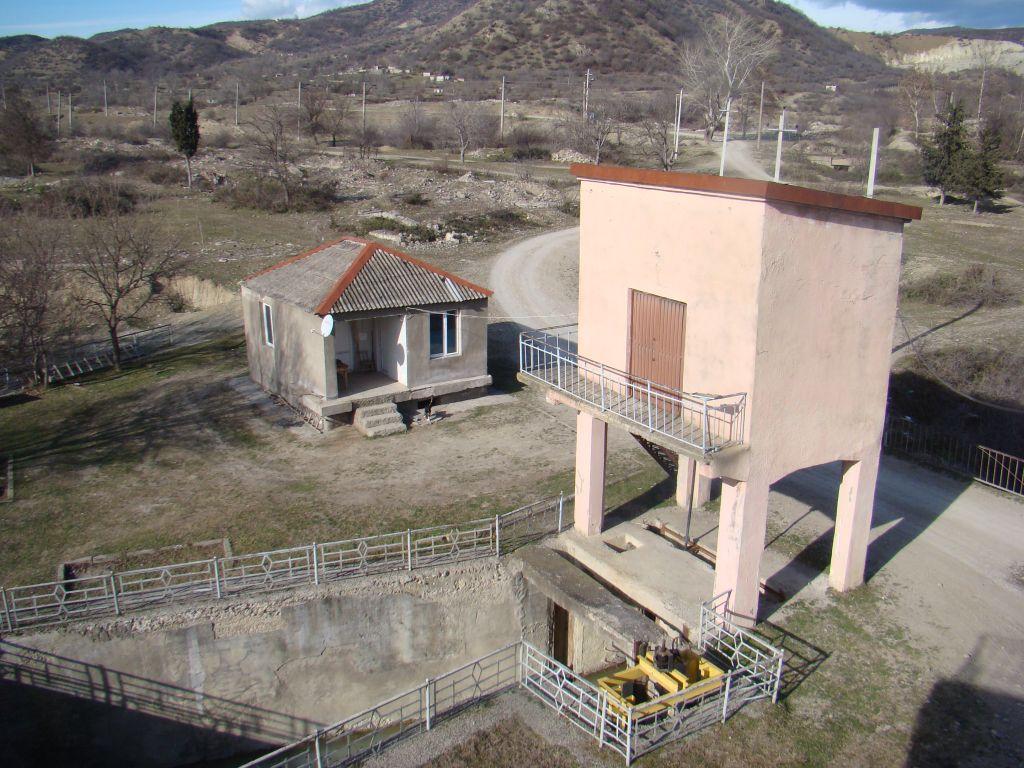 View from a Dam building near Sagarajo
