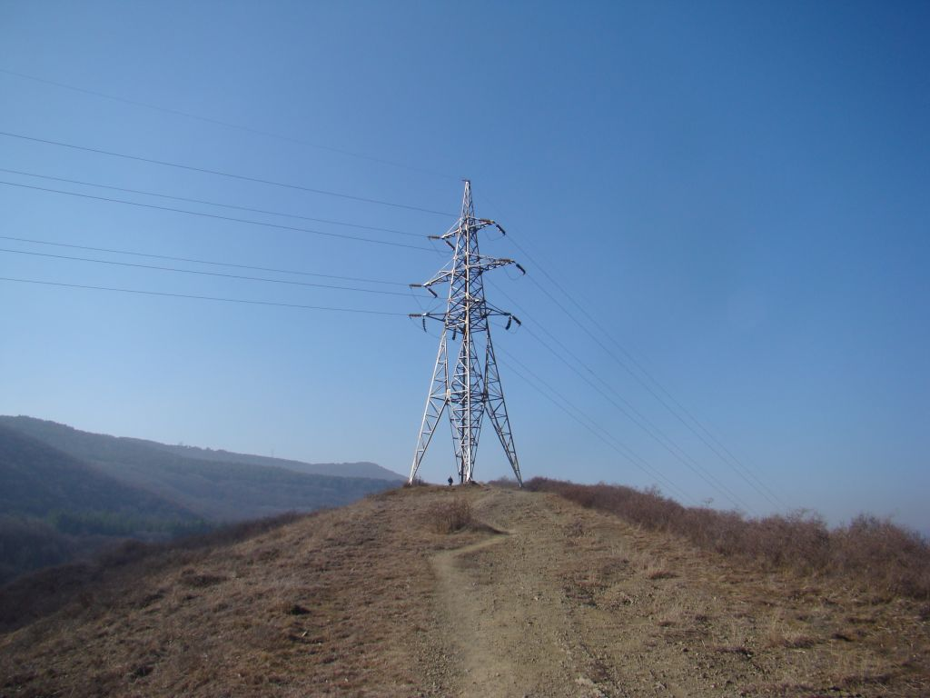 Transformer on Tbilisi hiking trail