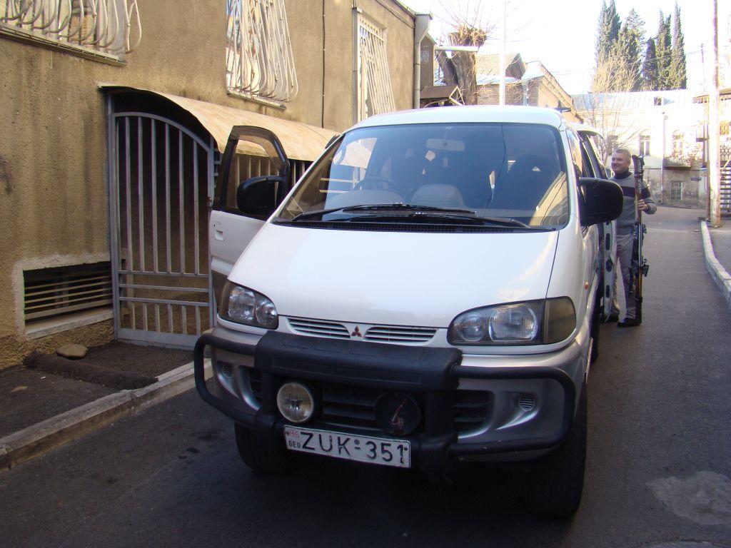 A cozy minivan
