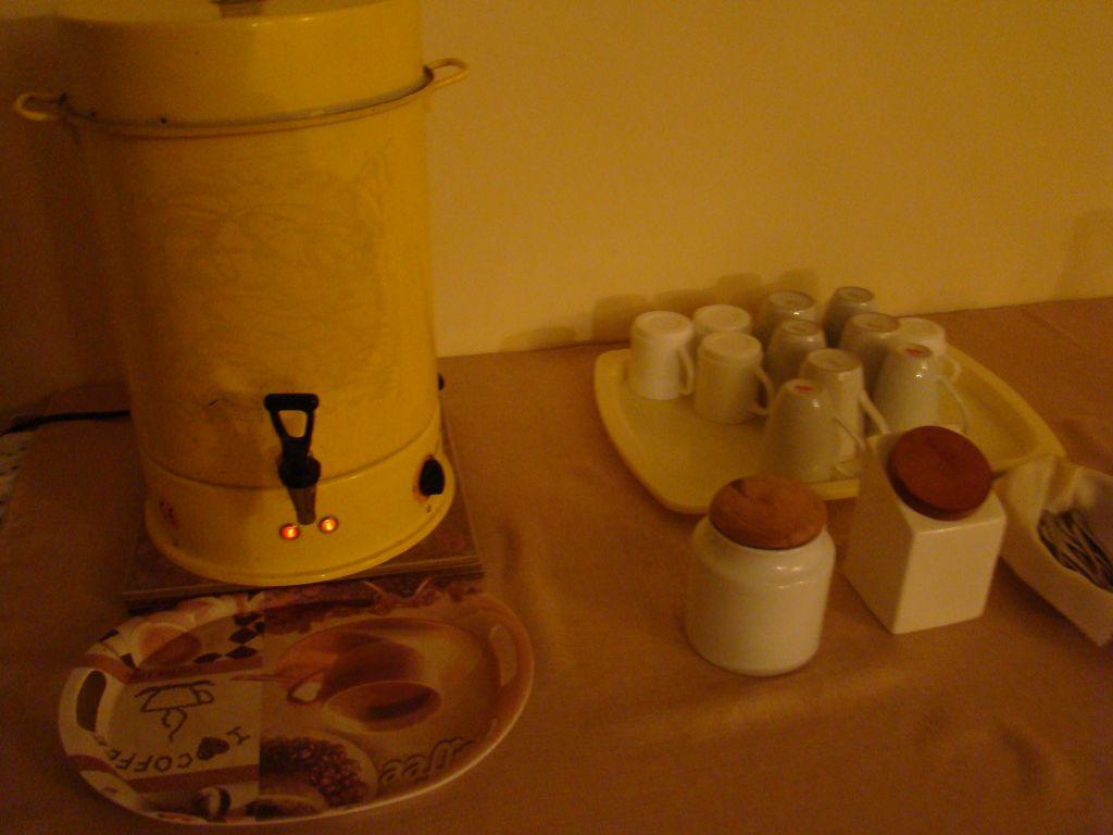 Free coffee & tea 24/7