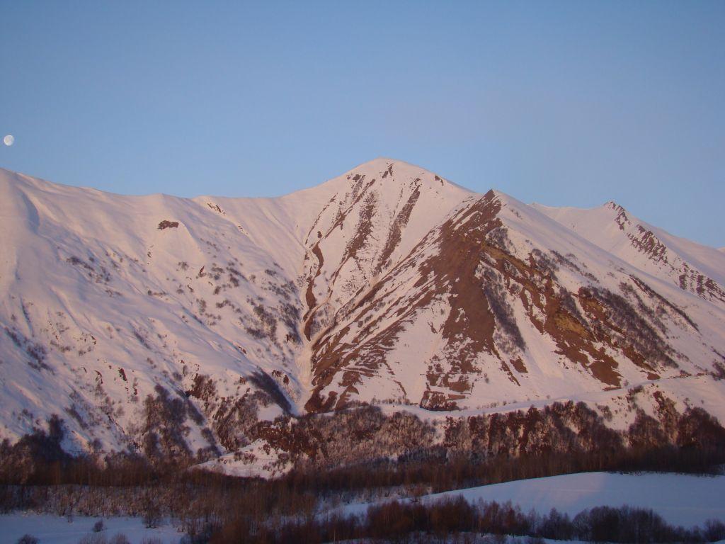 Mountains at Gudauri