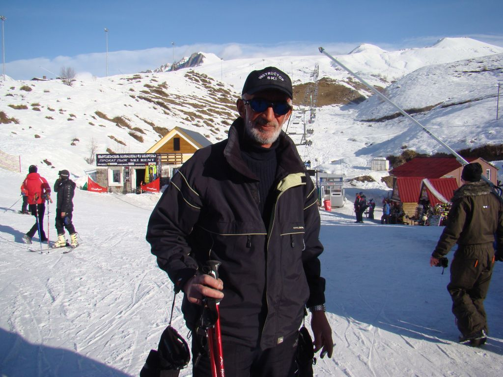 Skiing instructor Vaso