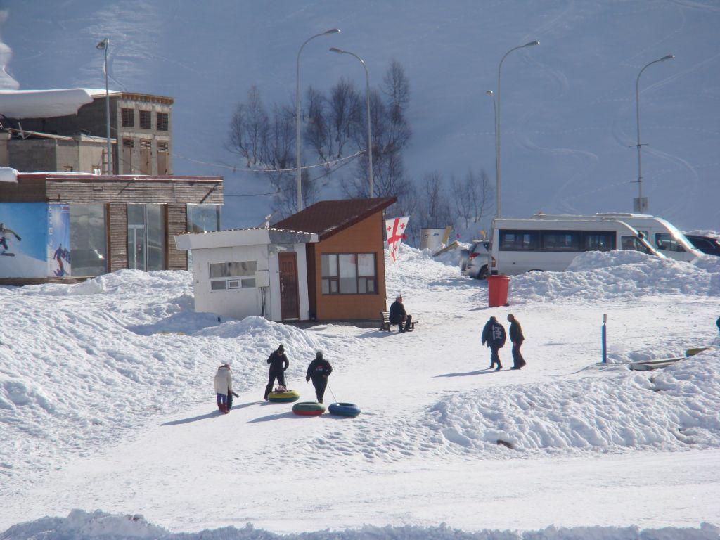 Gudauri skiing slopes