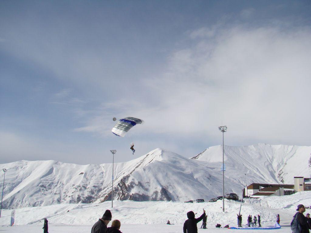 Paragliding at Gudauri