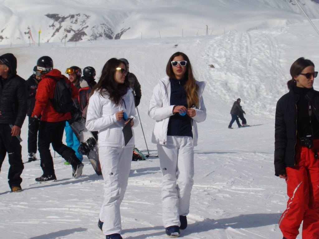 Georgian promoter girls