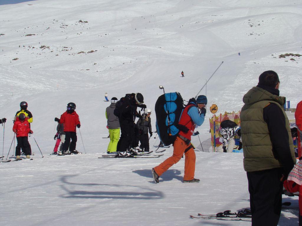 At Gudauri winter resort