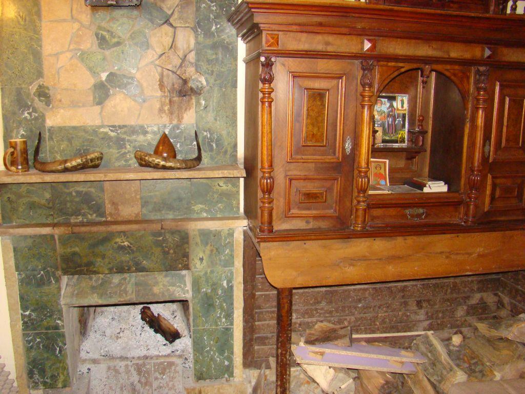 Fire place at Hotel Shamo