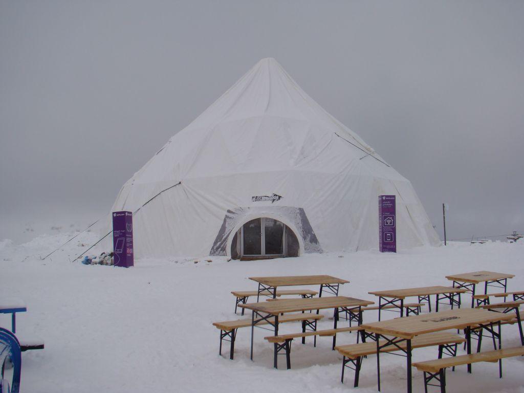 Tent at Gudauri