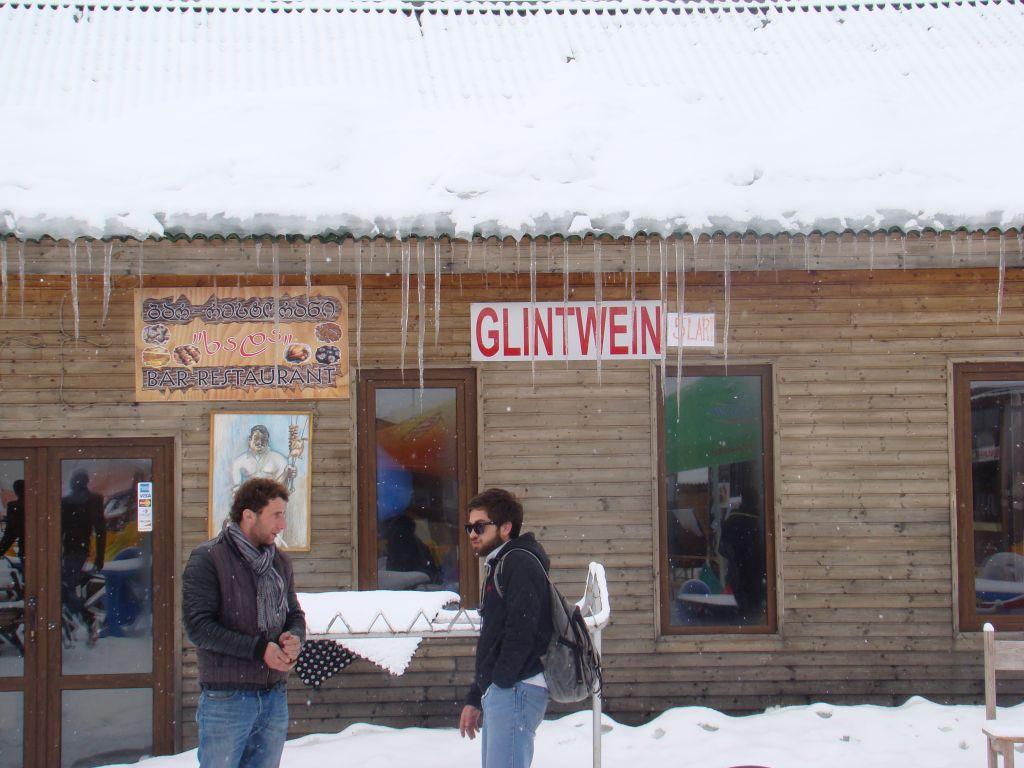 Hot Wine at Gudauri