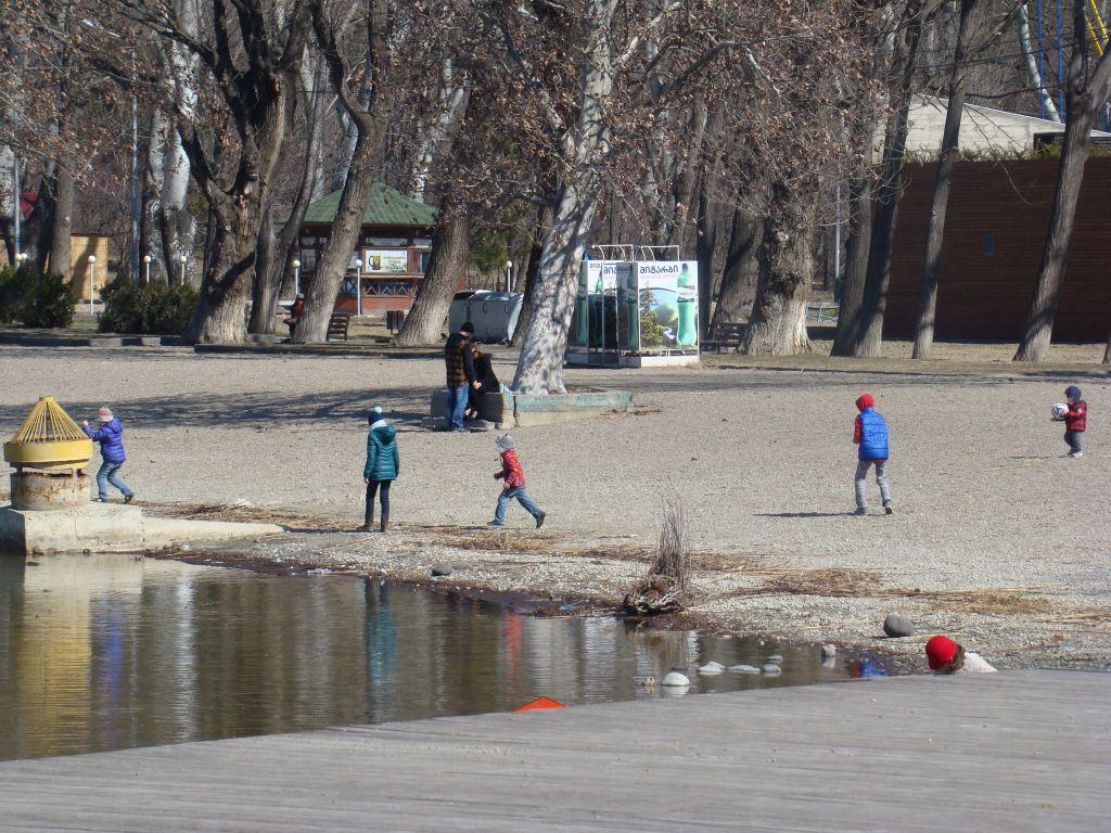 Recreational area near Lisi lake