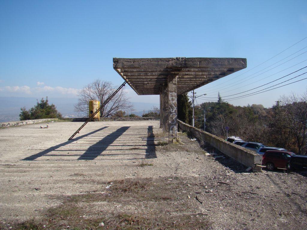 Former Aerial tram stop at Turtle lake