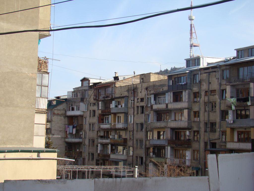 Neighbourhood in Tbilisi