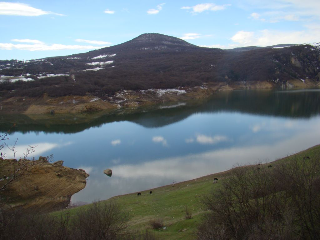 Tremendous view of Algeti reservoir