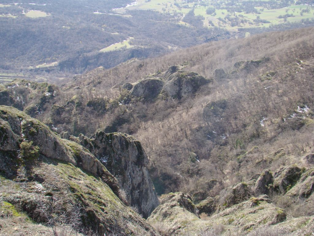 View from Birtvisi Canyon