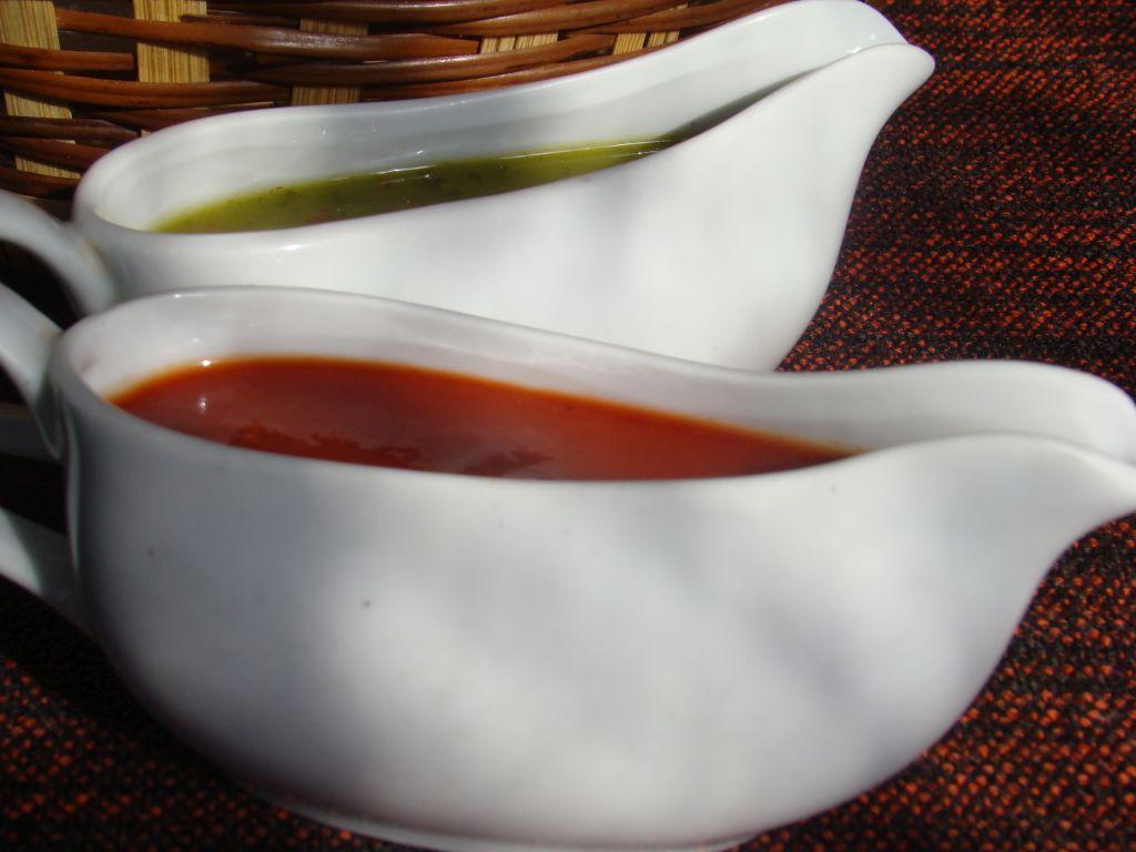 Tkemali and Sacebeli sauces