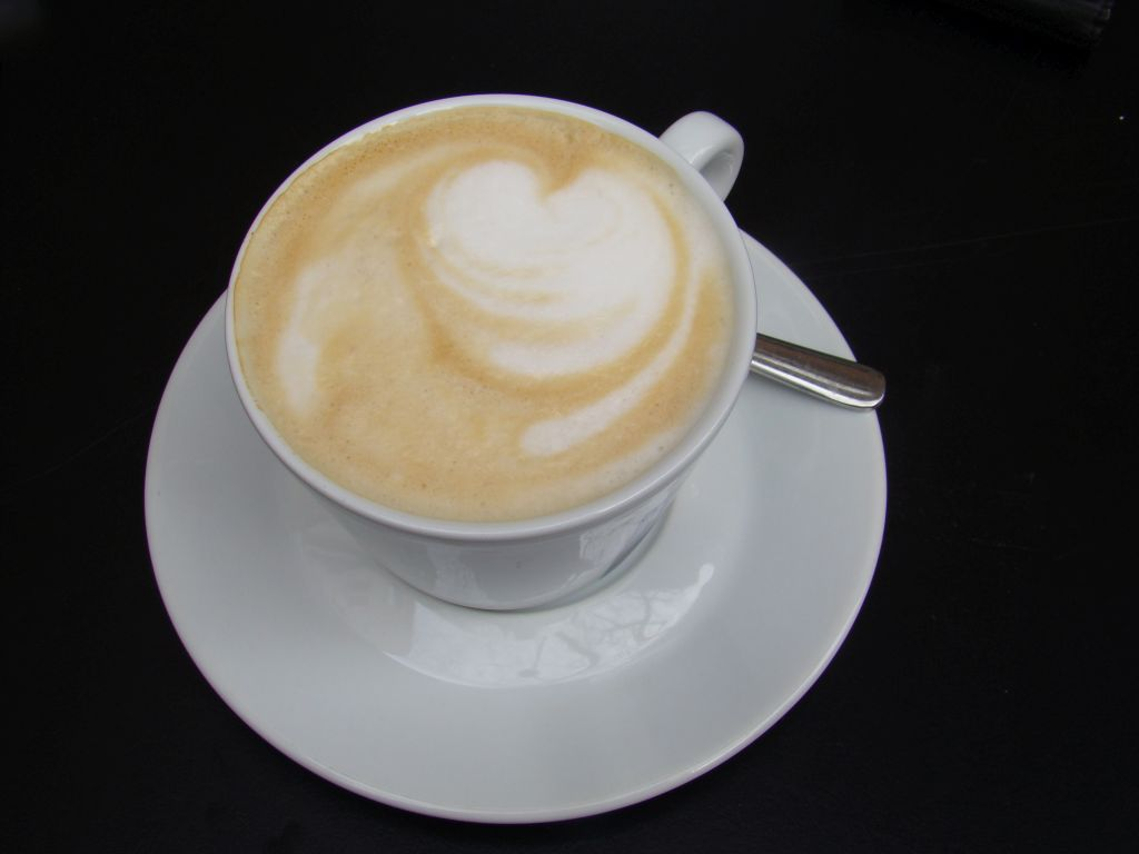 Cappuccino at this restaurant