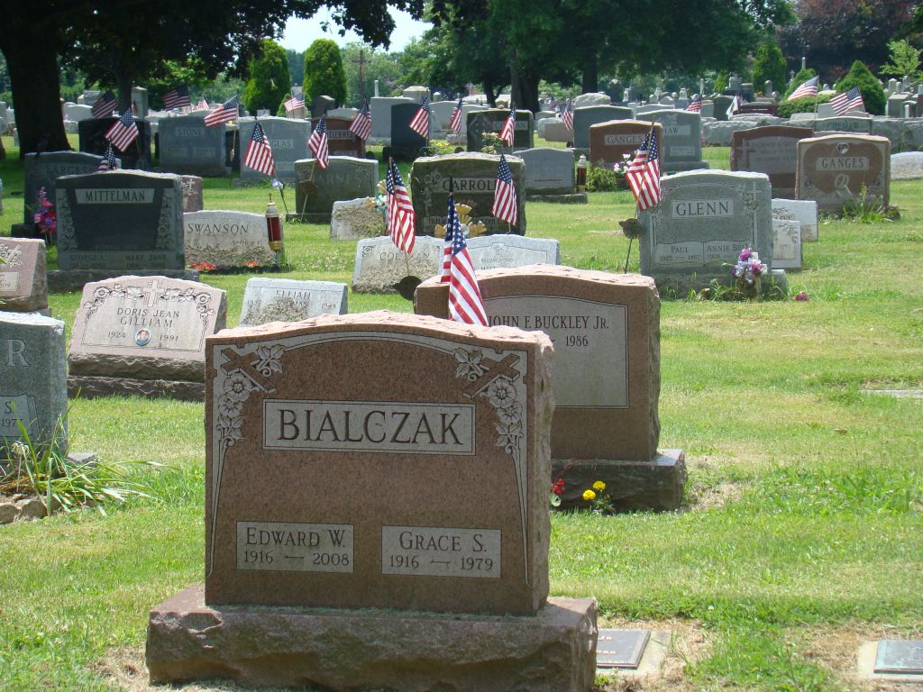 Cemetery in Bordentown