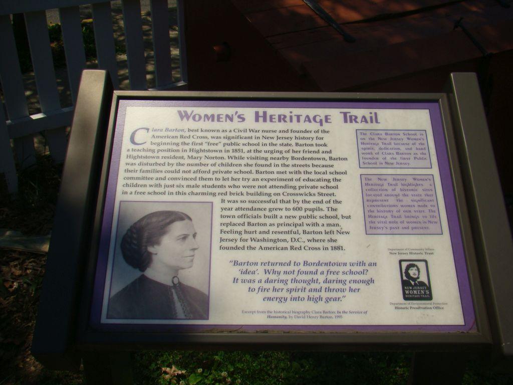 Women's Heritage Trail in Bordentown