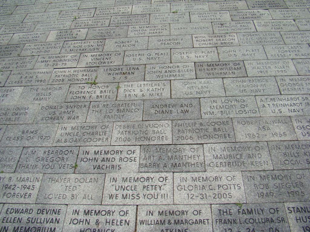Memorial in Bordentown